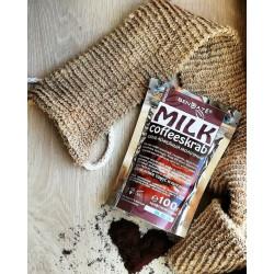 Скраб кофейный «Молочный»  питательный