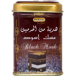 Духи сухие Black Musk Hemani